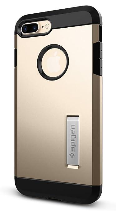 21 opinioni per Spigen 043CS20530 Custodia per Apple iPhone 7 Plus, Oro/Champagne