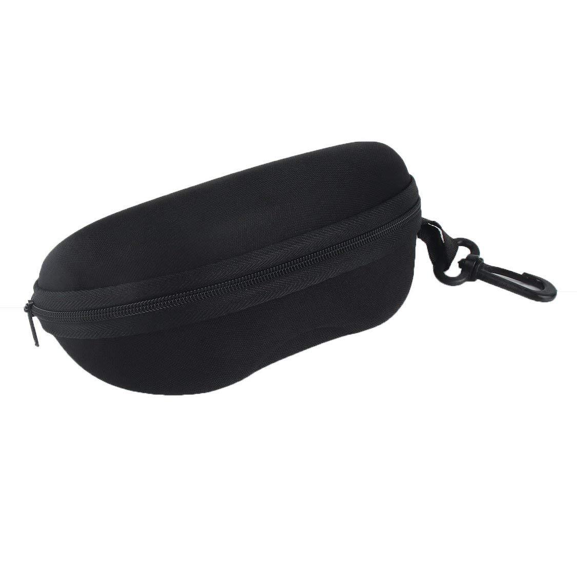 Estuche para gafas de sol y anteojos Campanilla con flor Sostenedor de gafas con cremallera duradero con clip para cintur/ón