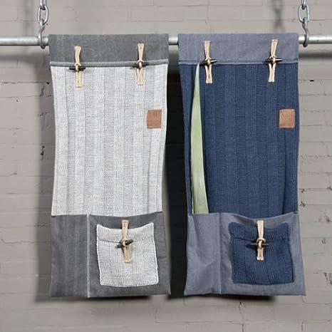 Knit pour Pocket Factory suspendu organiseur fauteuilcôtes TFKJ1lc