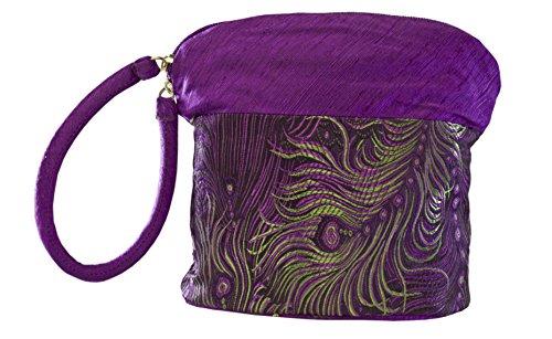 HiyaHiya Small Project Bag for Knit and Crochet - Purple Feather by HiyaHiya