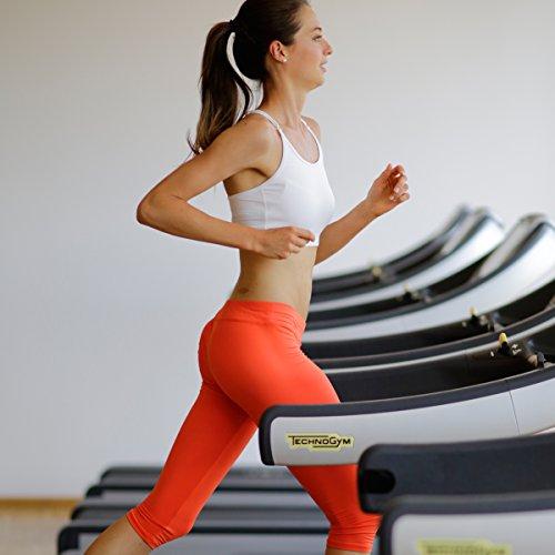 Sportkind Soutien-gorge blanc pour femme et fille pour le sport / tennis / fitness Maintien léger Tailles 152 à XL