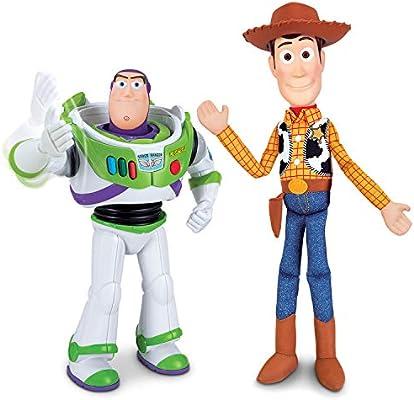 Toy Story - Pack de Amigos Buzz 30 cm y Woody 40 cm (Bizak ...