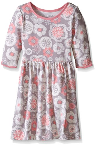 Knit Snowflake Dress (Marmellata Little Girls' Snowflake Knit Dress, Multi, 5)