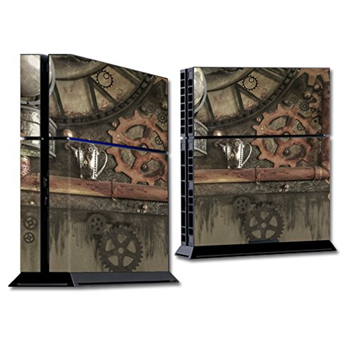 MightySkins Skin for Sony PS4 Console – Steam Punk Room | Protective, Durable, and Unique Vinyl Decal wrap Cover | Easy to Apply, Remove, and Change Styles | Made in The USA