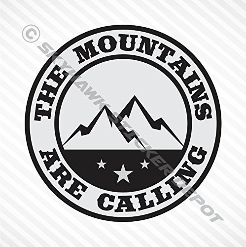 The Mountains Are Calling MacBook Pro Air Sticker 13