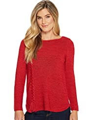 NIC+ZOE Womens Braided Up Top
