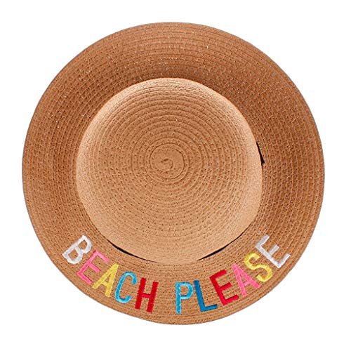 KASSD Hats for Baby Boys Girls, Children Kids Cap Leater Print Bucket Soft Beach Fashion