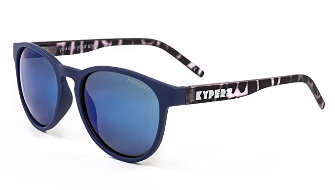 KYPERS Bloody Mary, Gafas de Sol Unisex, Matte Navy-Ice Blue ...