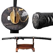 Fully Handmade Folded Steel Katana Functional Japanese Samurai Sword Real Sharp