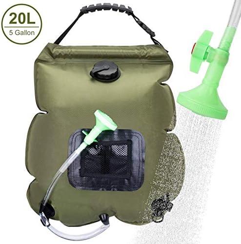 VIGLT Camping Shower Bag 5 Gallons