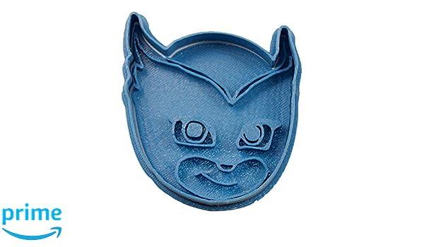 Cuticuter PJ Masks Owlette Cortador de Galletas, Azul, 8x7x1.5 cm: Amazon.es: Hogar