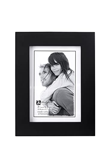 Amazoncom Malden 35x5 Picture Frame Wide Real Wood Molding