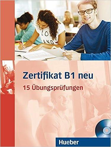 Buy Zertifikat B1 Neu Ubungsprufungen Buch Cd Mp3 Book Online