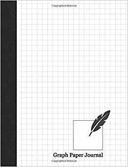 Graph Paper Journal: 1/3 Inch Rule, 150 Pages