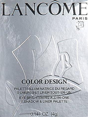 Lancome 5 Shadow Liner Color Design Palette, Mauve Cherie