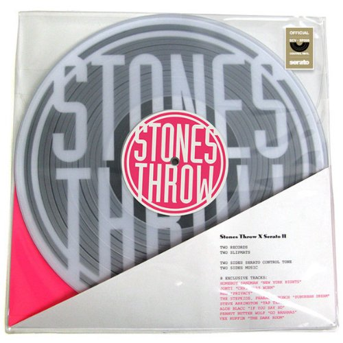 Stones Throw: Stones Throw x Serato II (Serato Control Vinyl + (2 Slipmats)
