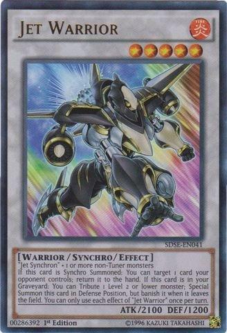 (Yu-Gi-Oh! - Jet Warrior (SDSE-EN041) - Structure Deck: Synchron Extreme - 1st Edition - Ultra Rare)
