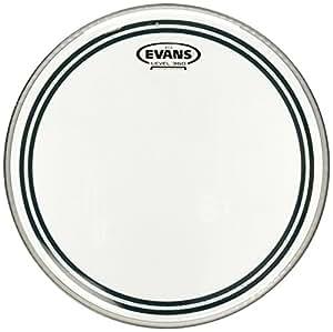 evans ec2 clear drum head 12 inch musical instruments. Black Bedroom Furniture Sets. Home Design Ideas