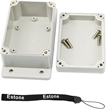 """Waterproof Plastic Electronic""""Project Box Clear Cover Enclosure Case 85*58*33mmZ"""
