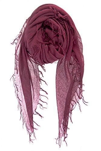 Chan LUU NEW Fig Cashmere & Silk Soft Scarf Shawl Wrap by Chan Luu