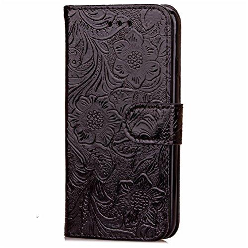Funda Libro para iPhone 7 Plus,Manyip Suave PU Leather Cuero Con Flip Cover, Cierre Magnético, Función de Soporte,Billetera Case con Tapa para Tarjetas, Funda iPhone 7 Plus A