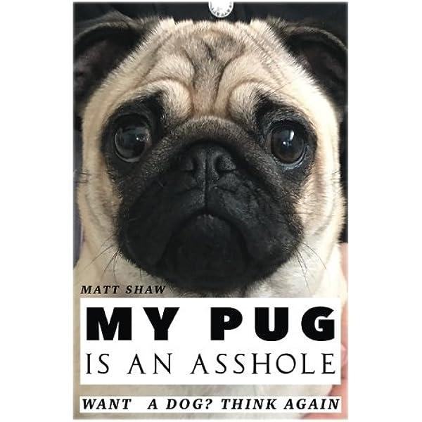 My Pug Is An Asshole Shaw Matt 9781975732974 Amazon Com Books