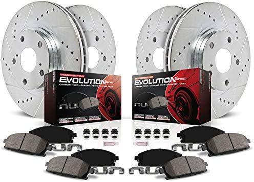 Power Stop B714 Rear Autospecialty Brake Shoes
