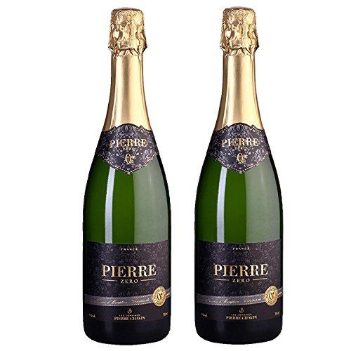 Pierre Chavin Zero Sparkling Blanc Non-Alcoholic Sparkling White Wine 750ml (2 ()