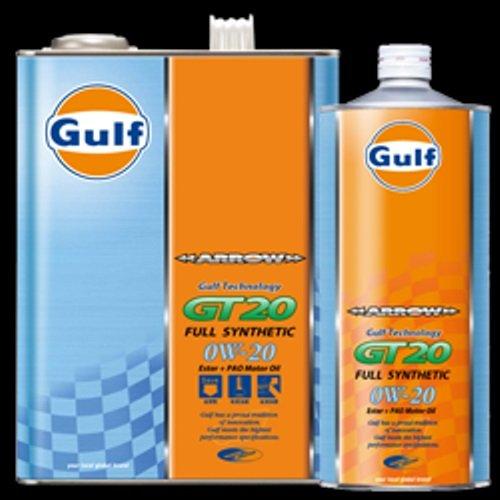 ガルフ アロー GT20 0W-20 (4L×3缶セット) B00KG6P58K