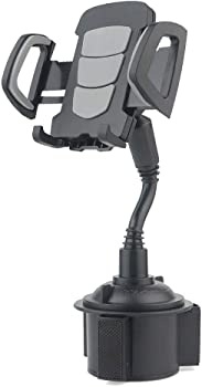LISJFS 360 Rotatable Car Cup Holder Phone Mount