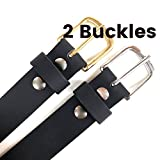 Handmade-Custom-Mens-Black-Leather-Belt