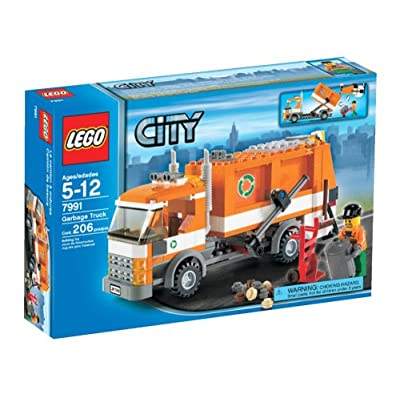 LEGO City Garbage Truck - 7991: Toys & Games