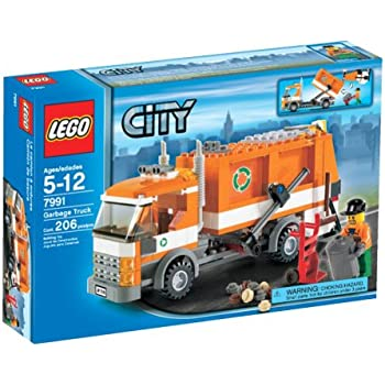 Amazon.com: LEGO City Garbage Truck - 7991: Toys & Games
