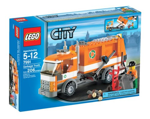 LEGO City Garbage Truck - 7991 (City Truck Recycling Lego)