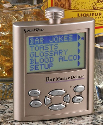 Excalibur Talking Bar Master - Flask Excalibur