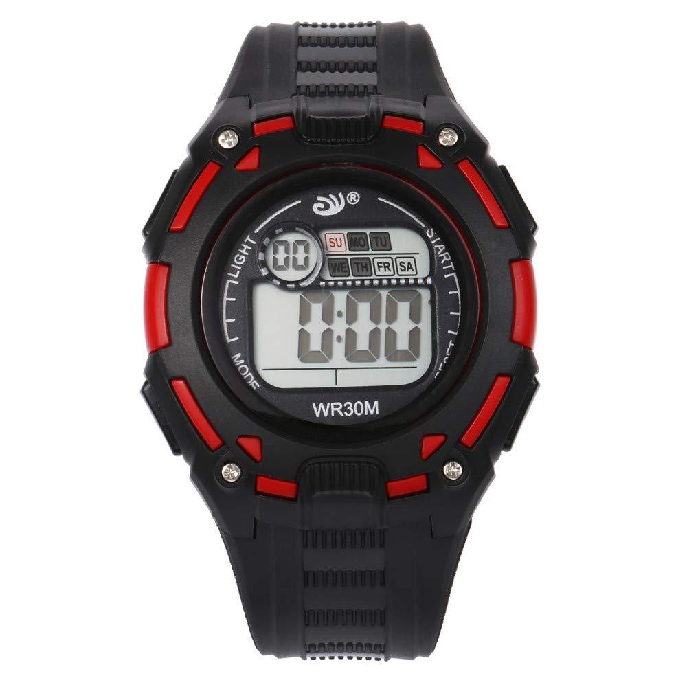 VEHOME Relojes de Pulsera Reloj Digital de acción Doble de 30 m. Relojes relojero Reloj reloje hombresRelojes de Pulsera Marcas Deportivos: Amazon.es: ...