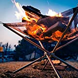 Rootless Large Portable Outdoor Fire Pit