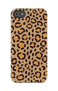 Uncommon - C0020-JJ - Carcasa para Apple iPhone 5/5S naranja Leopard