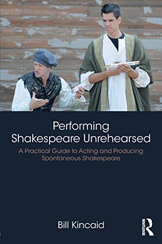 Pdf Arts Performing Shakespeare Unrehearsed