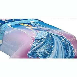 Disney Cinderella Twin-Full Comforter Secret Princess Bedding
