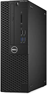 Dell Optiplex 3050 Small Form Factor (SFF) Business Desktop PC, Intel i5-6500 Quad-Core 3.2 GHz, 8GB DDR4, 256GB PCIe NVMe SSD, Ethernet, USB 3.0, DVDRW, Display Port/HDMI, Windows 7 Pro