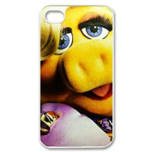 Miss Piggy Muppets Protective Hard Plastic Apple iPhone 4 4s Case Cover,Top iPhone 4 4s Case from Good luck to