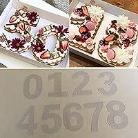 BALANCEYG Carta Números Forma Molde de Pastel de Chocolate ...