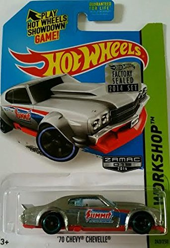 Hot Wheels 2014 Factory Sealed Set Exclusive - '70 Chevy Chevelle (Zamac)