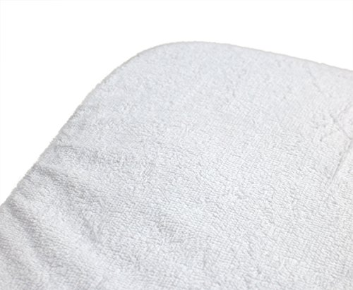 Breathable Membrane - ObboMed® MC-5605 Washable Reusable Terry Incontinence Waterproof Mattress protector cover (US King: 193 x 203 cm/ 76 × 80 inches)