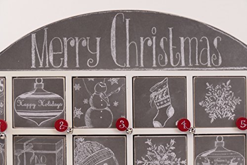 Primitives by Kathy 23700 Christmas Chalk Art Wood Countdown Box by Primitives by Kathy (Image #4)