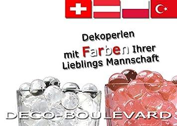 Weihnachtsdeko österreich.6 Tüten Einfarbige Wasserperlen Von Deco Boulevard Mit Farben Der