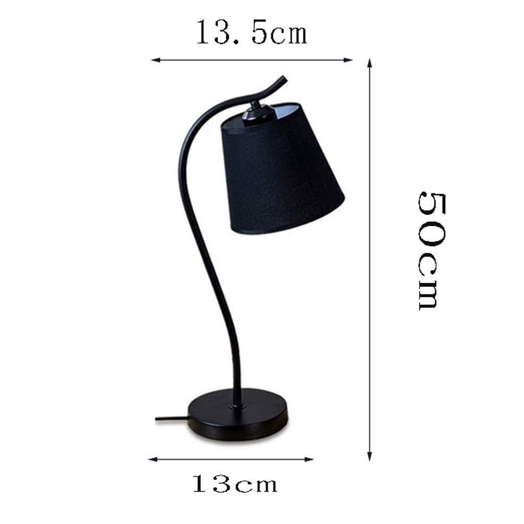 Proteccion ocular Creativo elegante Lámpara de mesa de hierro ...