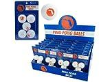 bulk buys Florida Ping Pong Balls (Countertop Display), White/Orange