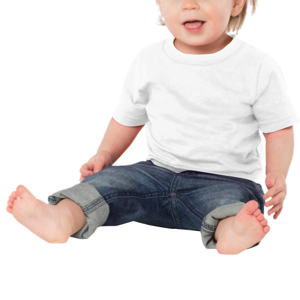 Unisex Baby Cute Tee Sunset Line T-Shirt 6M-24M